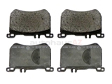 0084203520 Genuine Mercedes Brake Pad Set
