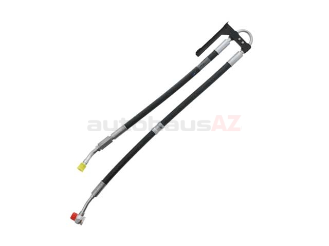 genuine mercedes 1644602224  a1644602224 power steering hose  pump to rack sku  1445337