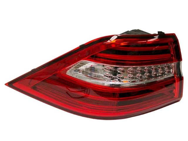 1669063501 Genuine Mercedes Tail Light; Left Outer