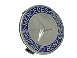 MB-17140001255337 Genuine Mercedes Wheel Cap; Center Hub Cap for Alloy Wheel