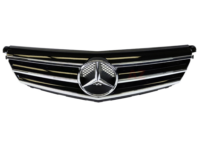 20488000239040 Genuine Mercedes Grille; Front Center