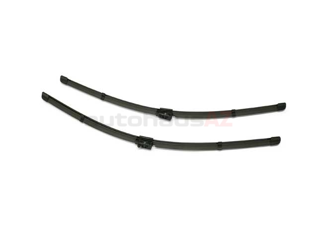 2058205700 Genuine Mercedes Windshield Wiper Blade Set; Front
