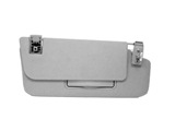 MB-21181004107F85 Genuine Mercedes Sun Visor Parts; Right Visor Assembly with Mirror; Orion Grey
