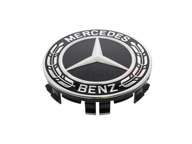 22240022009040 Genuine Mercedes Wheel Cap; Center Cap, Alloy Wheel; Black