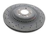 2224231500 Genuine Mercedes Disc Brake Rotor