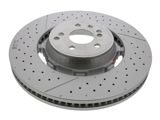 2314211812 Genuine Mercedes Disc Brake Rotor; Front