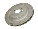 2314230212 Genuine Mercedes Disc Brake Rotor; Rear