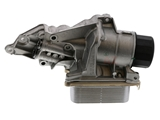 2721800510 Genuine Mercedes Oil Cooler; Filter Housing