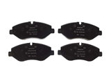 9064210400 Genuine Mercedes Brake Pad Set; Front
