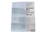 MB800GMOB Robert Bentley Repair Manual - Book Version; 1986-1995 Mercedes 124 Chassis Owners Bible; OE Factory Authorized