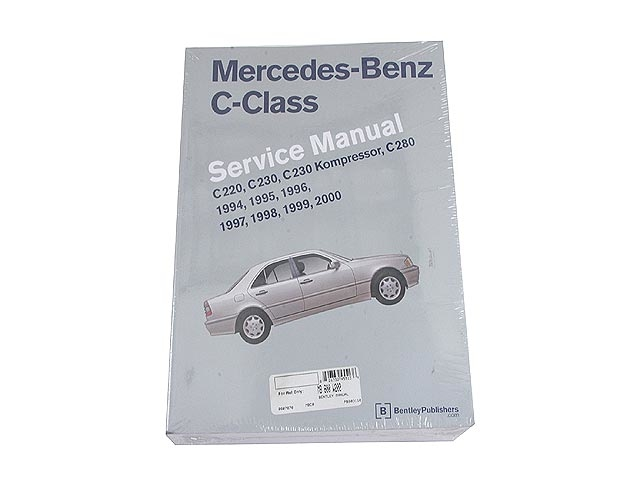 MB800W202 Robert Bentley Repair Manual - Book Version1994-2000 Mercedes 202 Chassis Service Manual; OE Factory Authorized