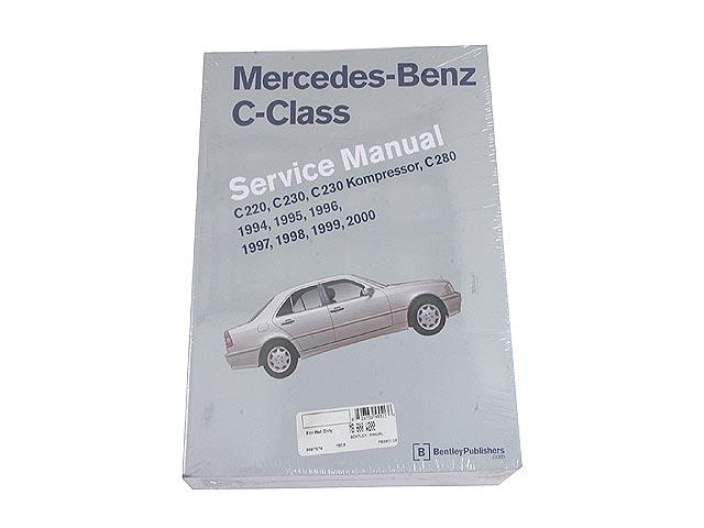 robert bentley mb800w202 repair manual book version 1994 2000 rh autohausaz com 1995 Mercedes C220 2018 Mercedes C220