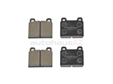 MDB1005 Mintex Brake Pad Set; Front; OE Supplier Compound