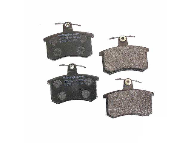 MDB1191 Mintex Brake Pad Set; Rear; OE Supplier Compound
