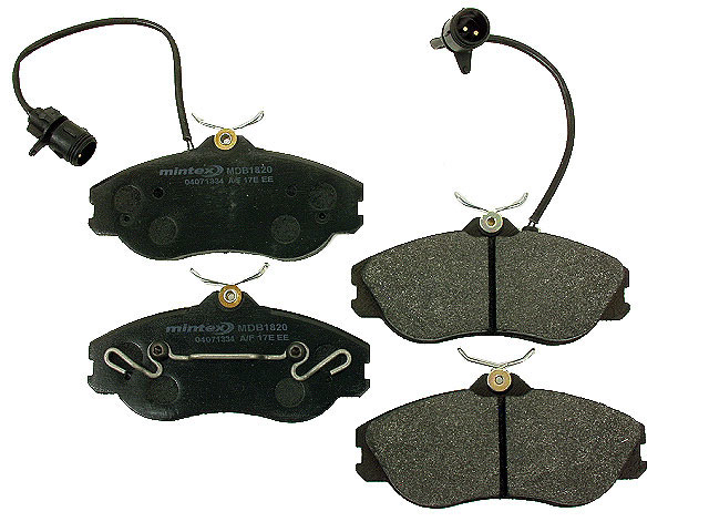 MDB1820 Mintex Brake Pad Set; Front; OE Supplier Compound