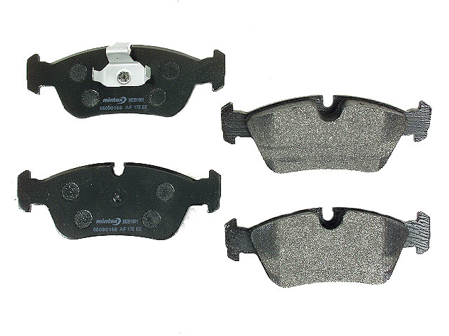 MDB1901 Mintex Brake Pad Set; Front; OE Supplier Compound