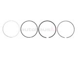 1120300124 Mahle Piston Ring Set; Standard; 89.9mm