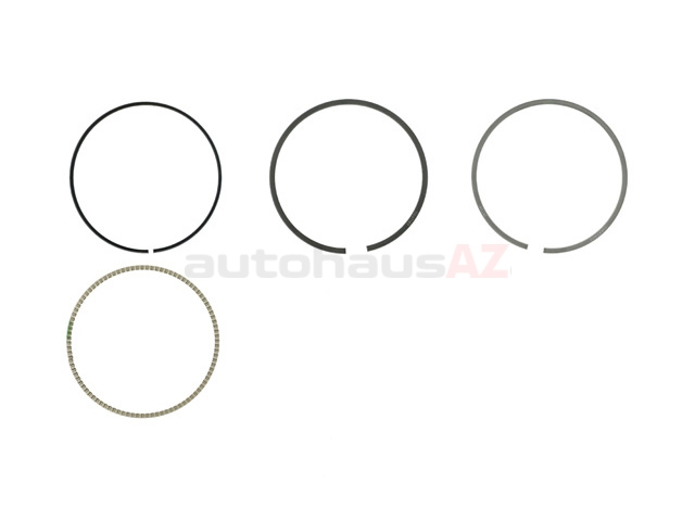 11257566479 Mahle Piston Ring Set; Standard, 77mm
