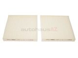 64312284827 Mahle Cabin Air Filter Set
