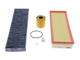 MINIFILTERKIT AAZ Preferred Oil Filter Kit; Oil Filter, Drain Plug, Air and Cabin Filters; KIT