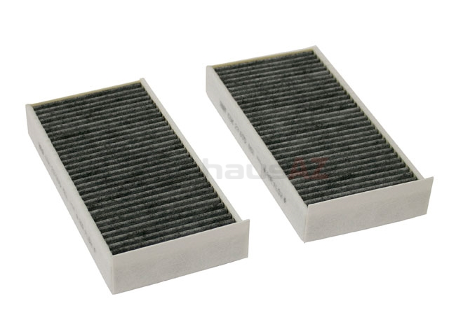 64116823725 Mann Cabin Air Filter Set; Activated Charcoal