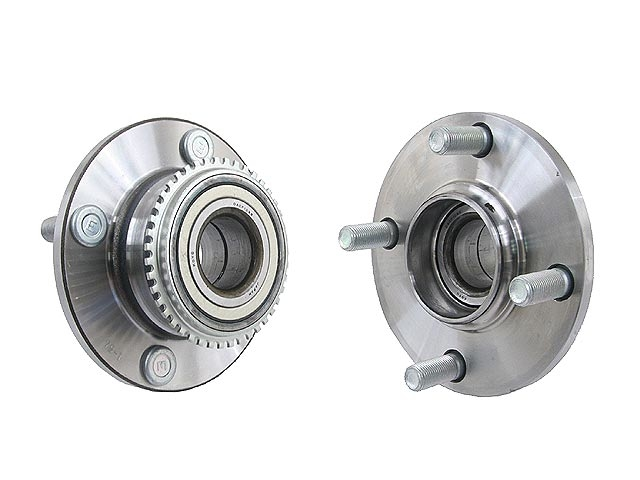 MR493619 Koyo Axle Bearing and Hub Assembly; Rear