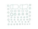 MT2592 Santech A/C System O-Ring and Gasket Kit