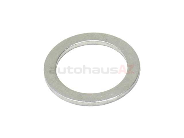 Fischer & Plath N0138487 Metal Seal Ring / Washer; 16x22x1.5mm; Aluminum