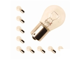 N177322 Jahn Multi Purpose Light Bulb; Single Element Bulb; 12V/21W; Nickel Base; 1156/7506 Type; SET OF 10