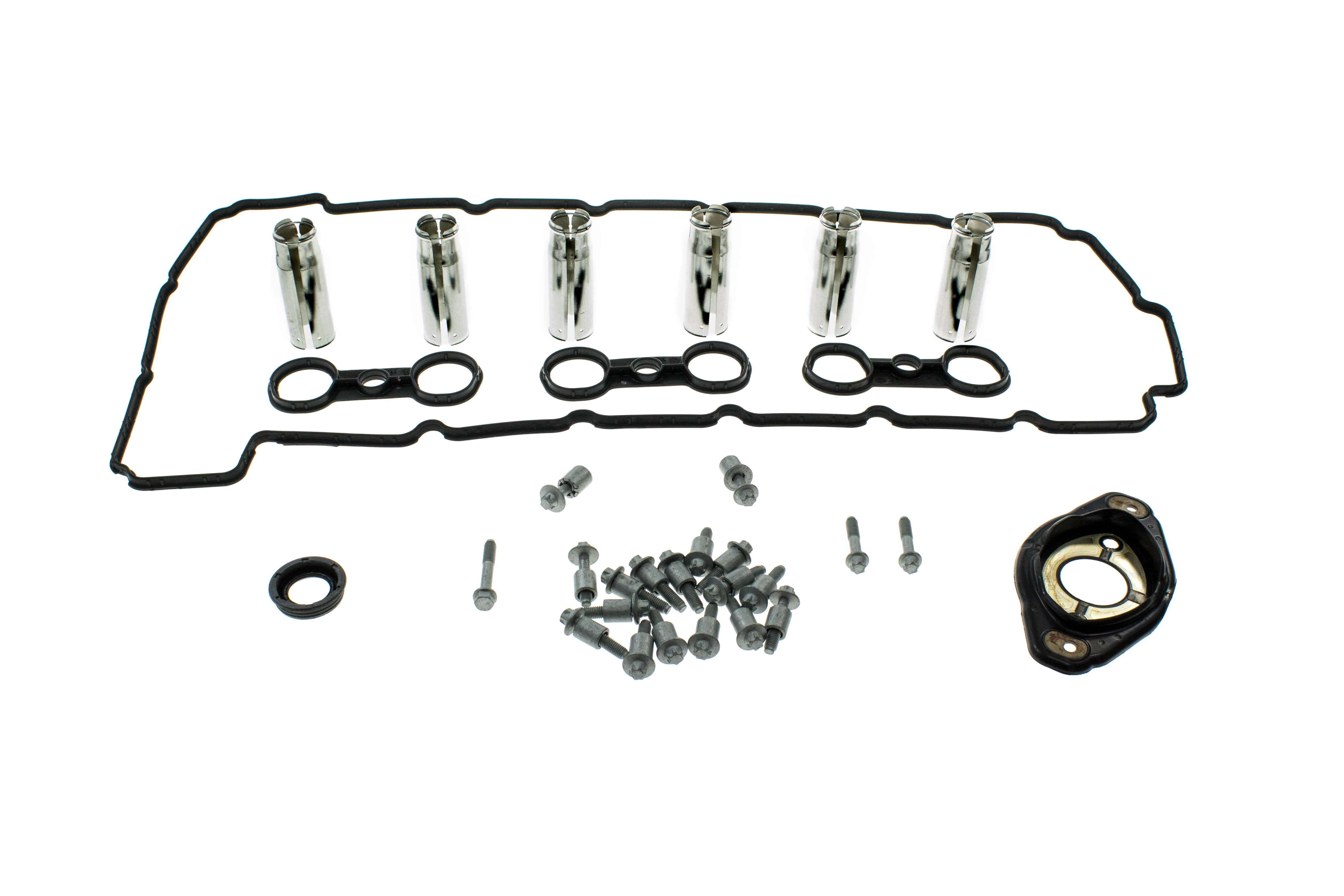 N512VCGSKT2KIT AAZ Preferred Valve Cover Gasket Set; Valve Cover Set, Solenoid Seals, Plug Tube Seals and Bolts; Kit