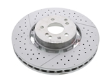 2124210512 Genuine Mercedes Disc Brake Rotor; Front