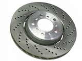 34112282802 O.E.M. Disc Brake Rotor; Front Right, Directional; 325 x 28mm