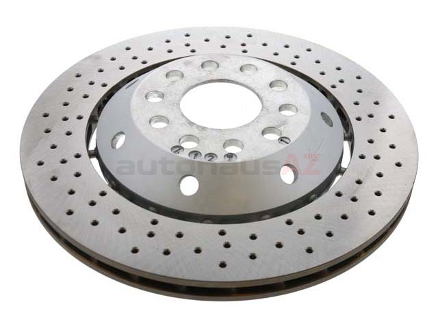 4B3615602A O.E.M. Disc Brake Rotor; Rear Right; Directional