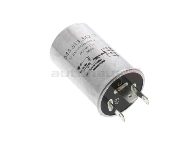 64461334211 O.E.M. Turn Signal/Flasher Relay; 12Volt; 3 Pin