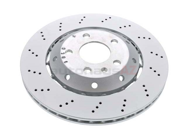 8E0615601AB VNE Disc Brake Rotor; Rear Left; Directional