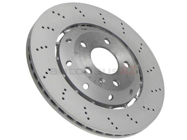 8E0615602D VNE Disc Brake Rotor; Rear Right; Directional