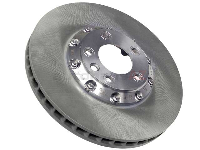 95535140261 O.E.M. Disc Brake Rotor; Front Right, Directional; 380x38mm