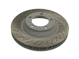 99135140301 VNE Disc Brake Rotor; Front Left; Directional