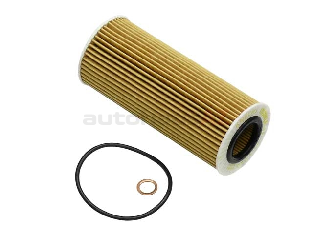 OX1773D Mahle Oil Filter Kit; Cartridge Type with Seal