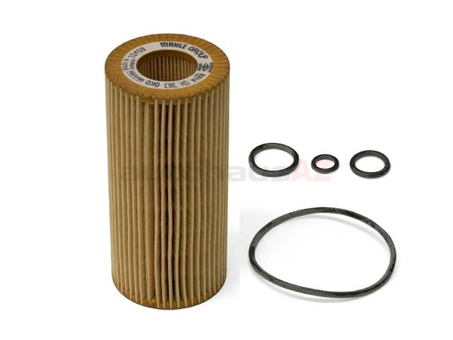 OX383D Mahle Oil Filter Kit