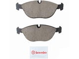 P06019N Brembo Brake Pad Set; Front Ceramic