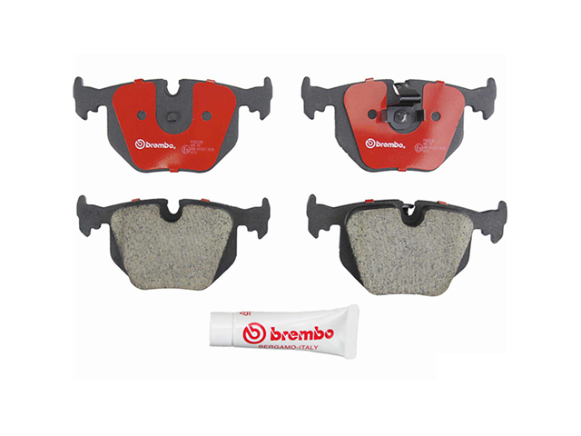 P06020N Brembo Brake Pad Set; Rear Ceramic