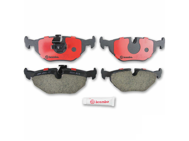 P06025N Brembo Brake Pad Set; Rear
