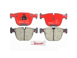 P06026N Brembo Brake Pad Set; Rear
