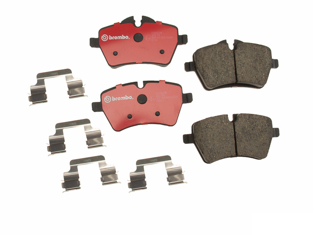 P06051N Brembo Brake Pad Set; Front