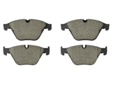 P06074N Brembo Brake Pad Set; Front
