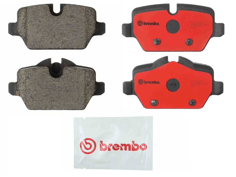 P06080N Brembo Brake Pad Set; Rear