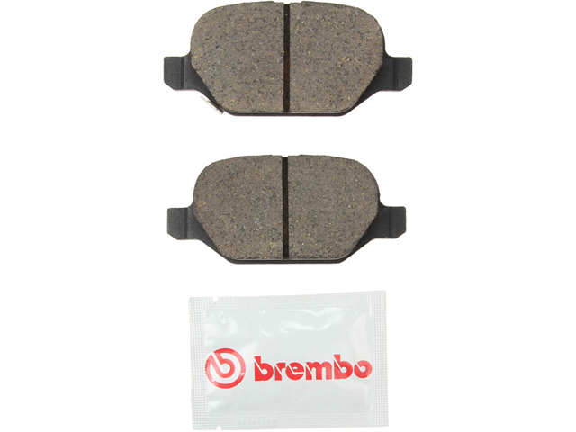 P23151N Brembo Brake Pad Set; Rear