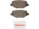 P24172N Brembo Brake Pad Set; Rear
