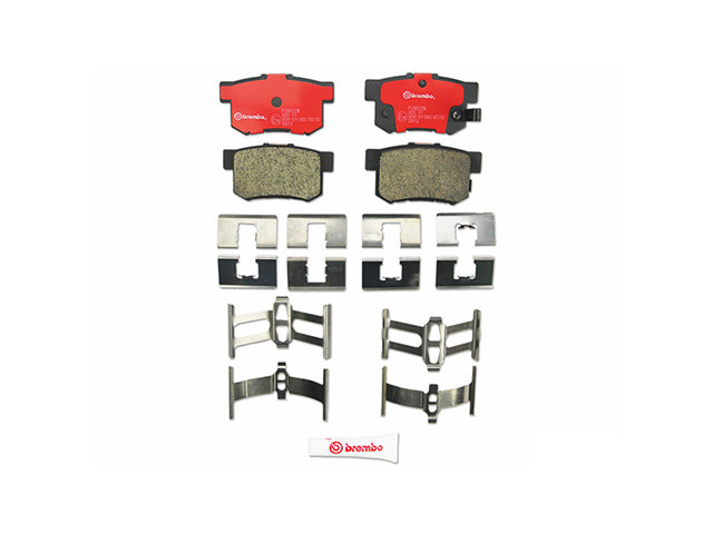 P28022N Brembo Brake Pad Set; Rear